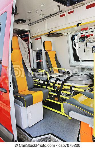 ambulance car  - csp7075200