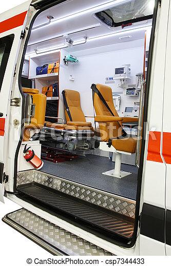 ambulance car - csp7344433