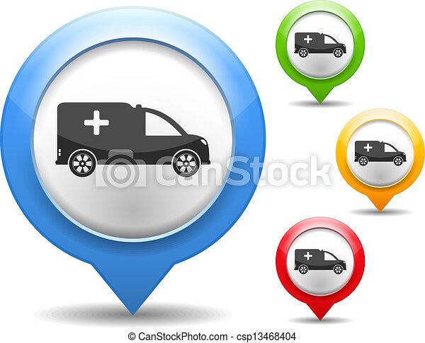 Ambulance Icon - csp13468404