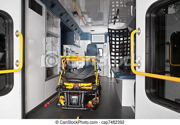 Ambulance Interior - csp7482392