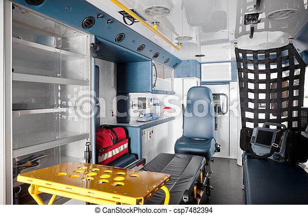 Ambulance Interior - csp7482394