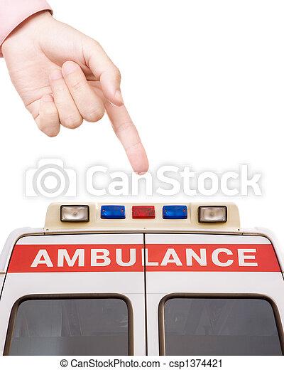 ambulance - csp1374421