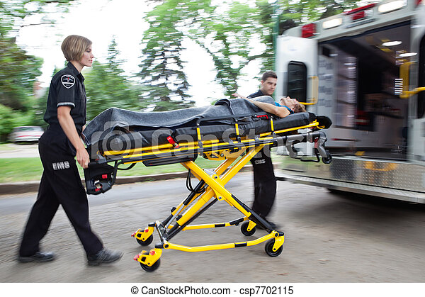 Ambulance Rush - csp7702115