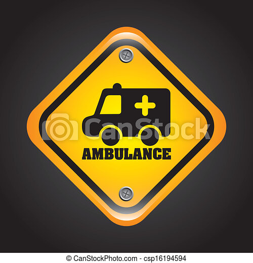 ambulance signal - csp16194594
