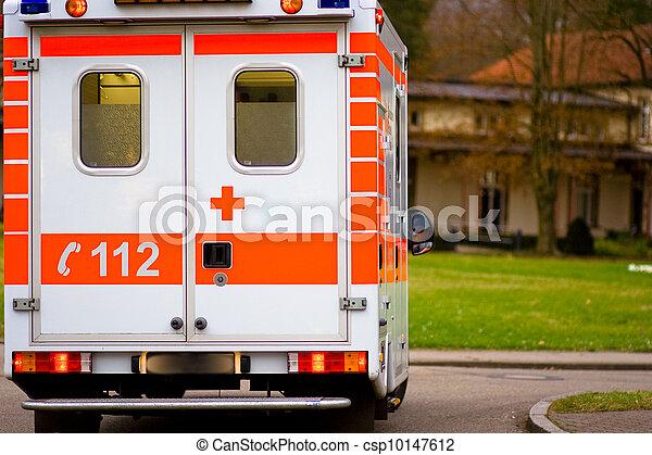 Ambulancia - csp10147612