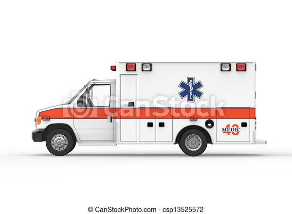 ambulancia - csp13525572