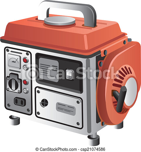 ambulant, generator - csp21074586