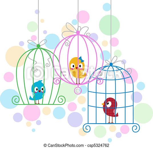 ame pássaros - csp5324762