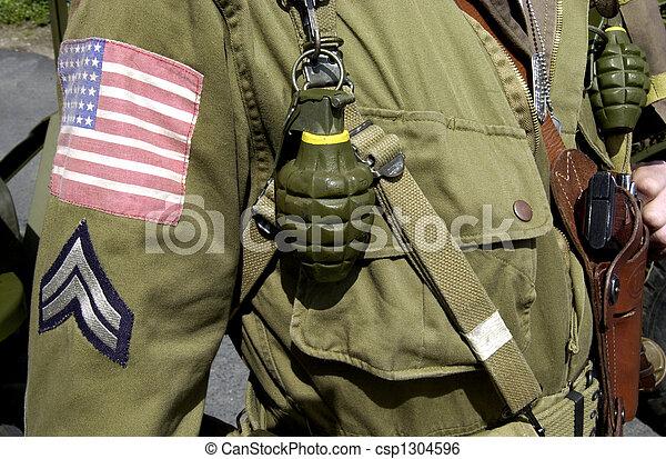 Ameircan GI Joe uniform - csp1304596
