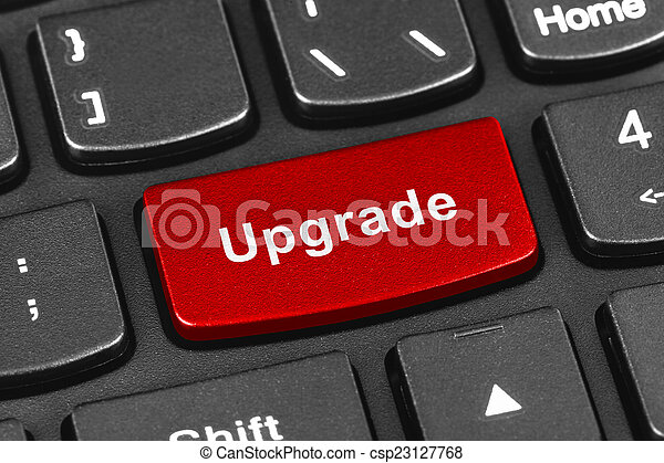 amendement, clef informatique, cahier, clavier - csp23127768