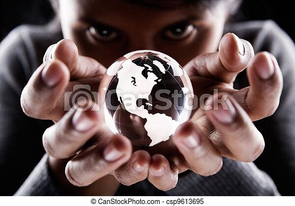 America continent - csp9613695