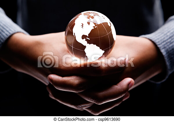 America continent - csp9613690