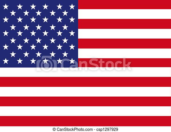 america flag - csp1297929