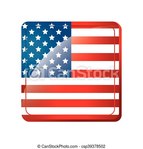 america usa flag national united stars blue red white 4 july rh canstockphoto com usa flag vector black and white usa flag vector ai