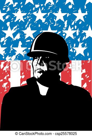 American army - csp25578025