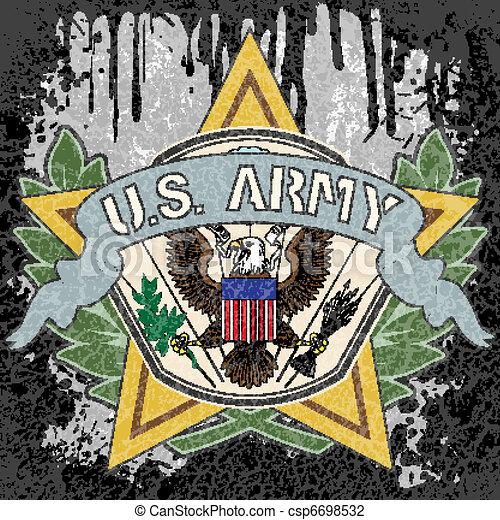 American army symbol - csp6698532