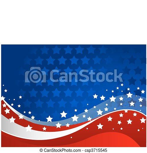 American background - csp3715545
