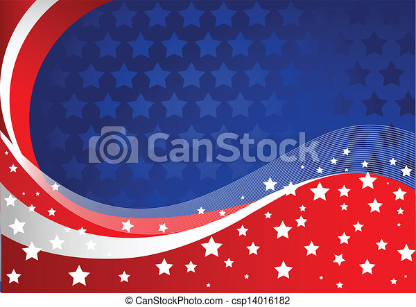 American background - csp14016182