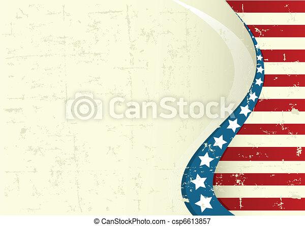 American background - csp6613857