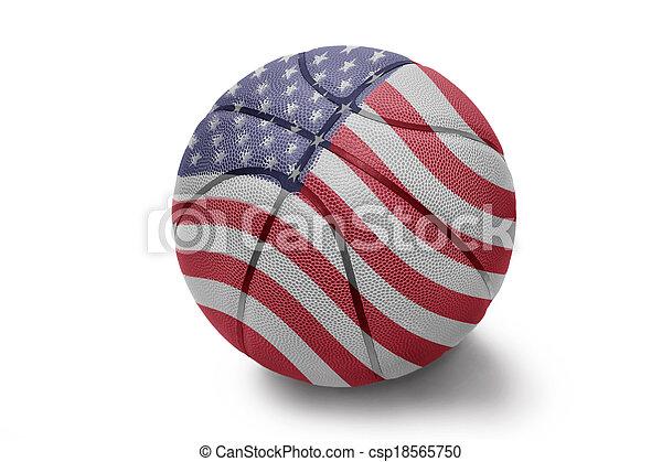 American Basketball - csp18565750