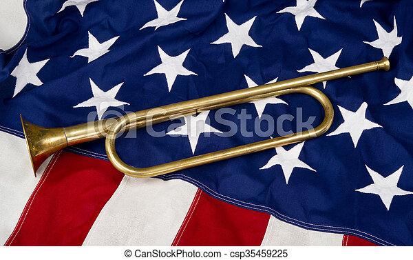 American Bugle - csp35459225