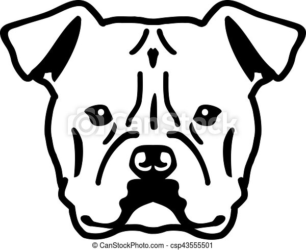 american bulldog head vector clipart search illustration drawings rh canstockphoto com head vector 100 head vector 130