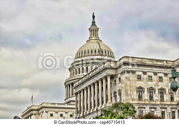American Capital Building. - csp40715413