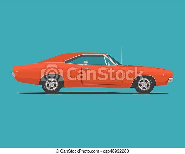 American Classic Muscle Car - csp48932280