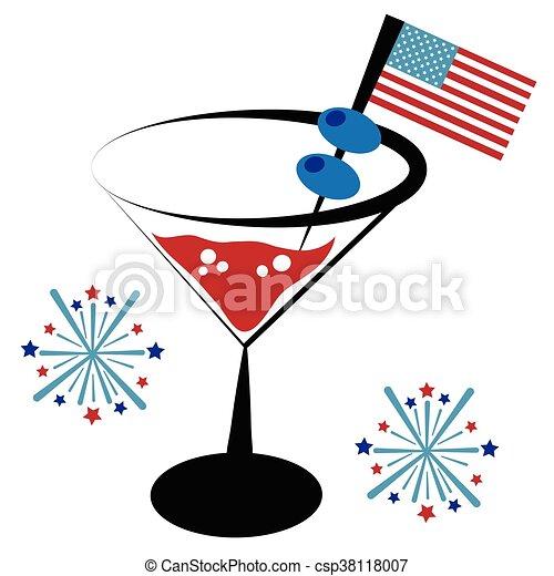 American Cocktail - csp38118007