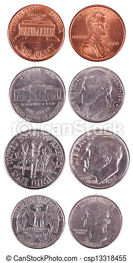 American Coins - Frontal - csp13318455