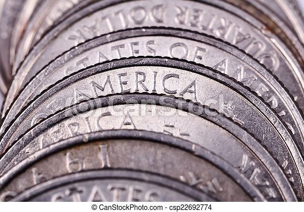 American coins - csp22692774