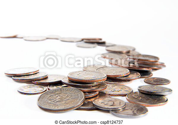 American coins - csp8124737