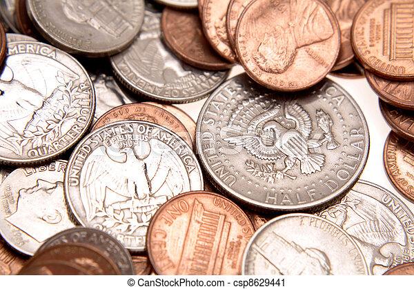 American coins - csp8629441