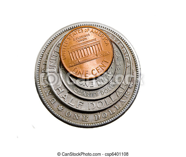 American coins - csp6401108