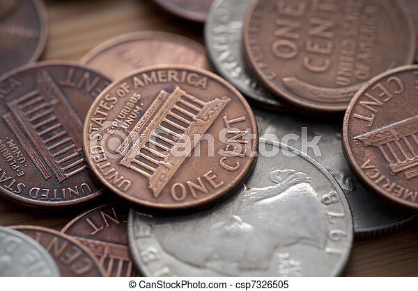 American coins - csp7326505