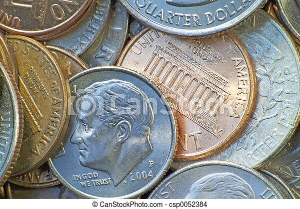 American coins - csp0052384