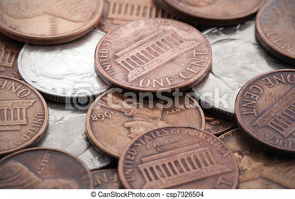 American coins - csp7326504