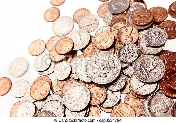 American coins - csp8534794