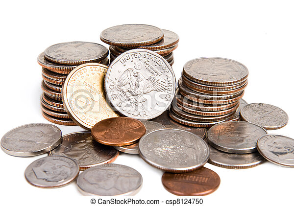 American coins - csp8124750