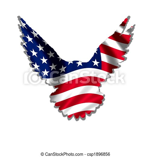 american eagle stars stripes design stock illustration search rh canstockphoto com free clipart american flag and eagle american flag eagle clip art