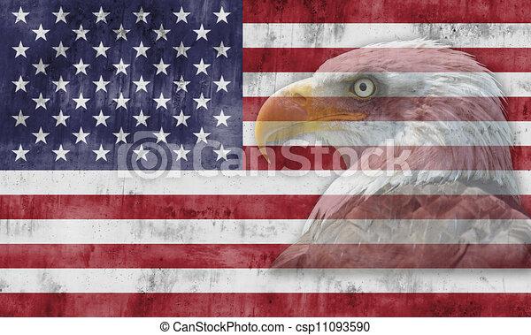 American Flag And Patriotic Symbols American Flag With Patriotic