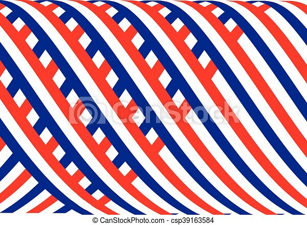 American flag background - csp39163584