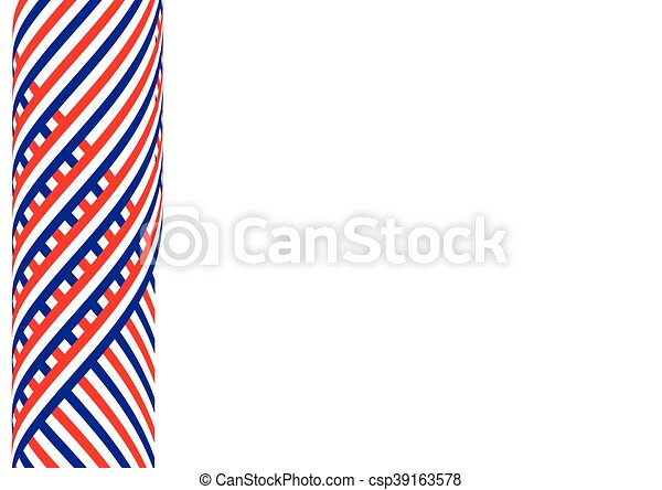 American flag background - csp39163578