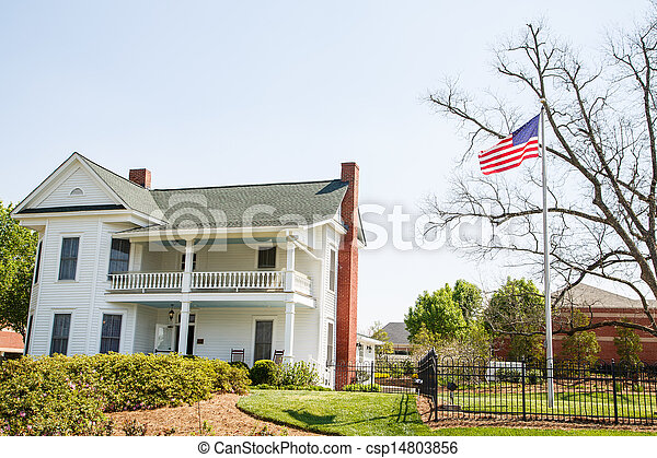American Flag by Two Story Traditional - csp14803856