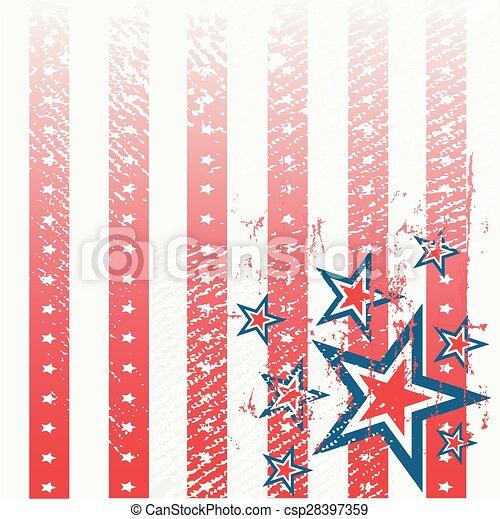 American Flag - csp28397359