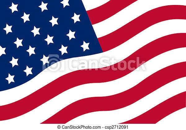 American flag - csp2712091