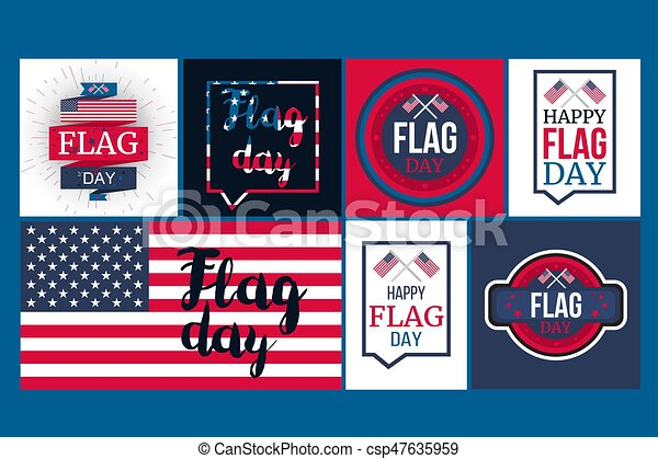 American Flag Day - csp47635959