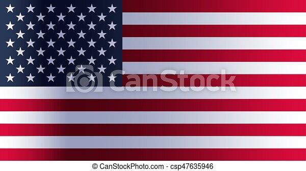 American Flag Day - csp47635946