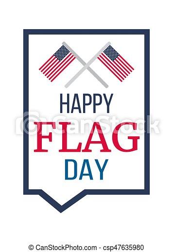 American Flag Day - csp47635980