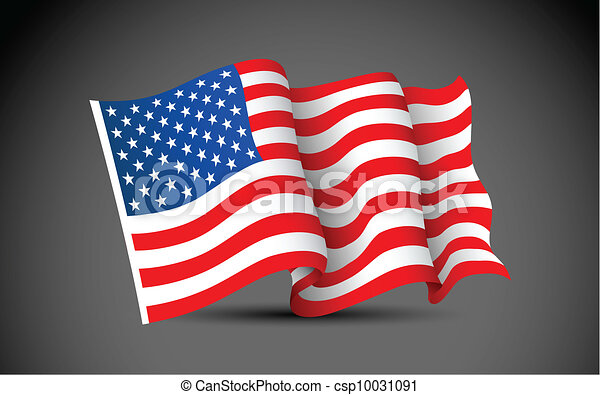 American Flag - csp10031091
